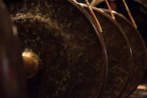 Tuned Gongs from the Open Arts Gamelan